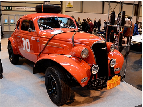 This 1937 Cheveloret had won the 2013 Peking to Paris Rally